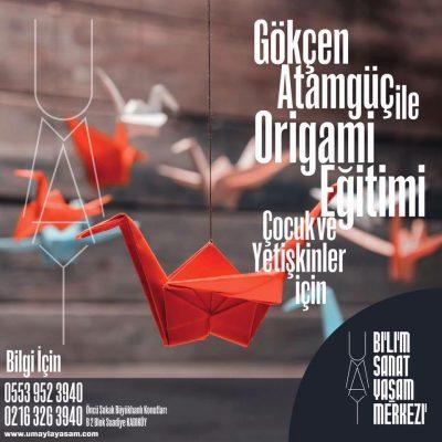 Gökçen Atamgüç ile Origami Eğitimi