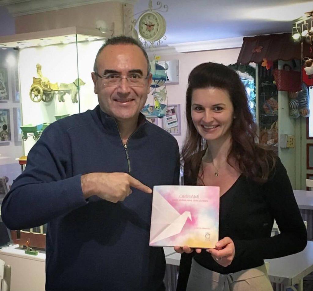 GA by GA Sunay Akın ve Origami Kitabı