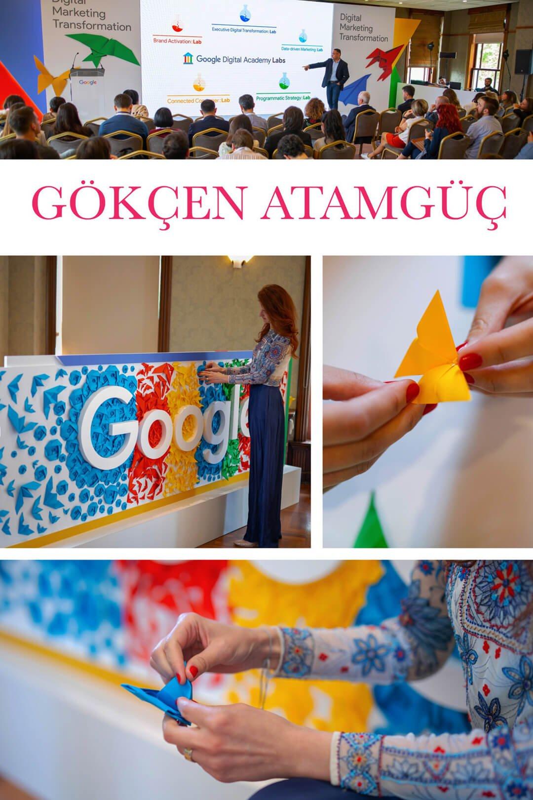 Google Event Lansman - Gökçen Atamgüç - Origami