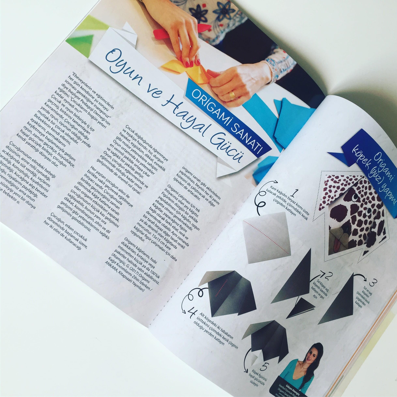 Origami Sanatı - Çekmeköy2023 Dergisi